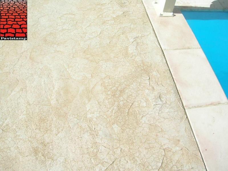 Hormig n impreso para piscinas construcciones sinergia for Hormigon impreso para piscinas