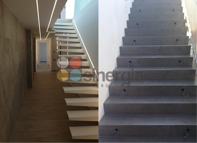escaleras para viviendas construcciones sinergia