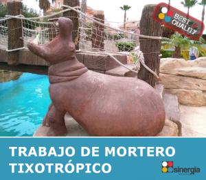Mortero tixotrópico en Alicante