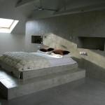Dormitorio microcemento