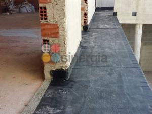 Impermeabilización de cubierta PVC en Jávea